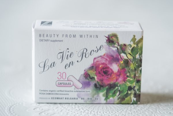 Stichting Wellness en Aromatherapie la vie en rose capsules